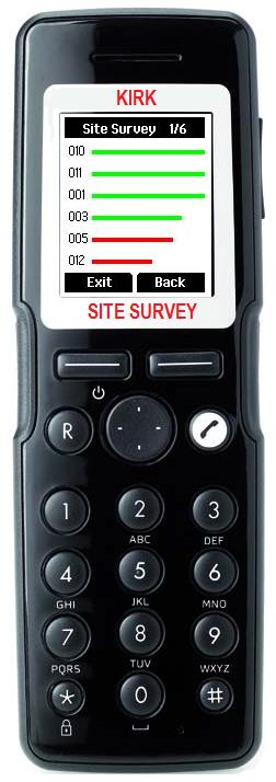 KIRK Site Survey Handset